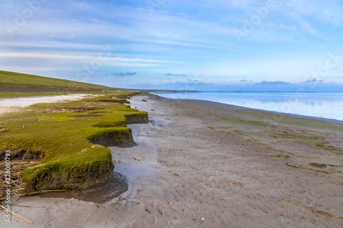 Fotografía Erosion dutch coast at Punt van Reide