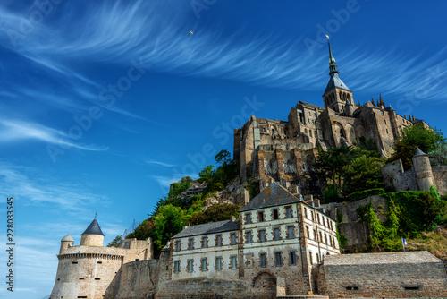 Fotografia Blick auf Le Mont-Saint-Michel , Bretagne , Frankreich