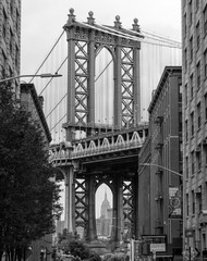 FototapetaPont de Manhattan, Brooklyn, USA