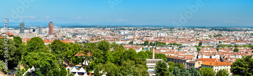 Foto op Plexiglas Europa Panorama of Lyon from the Fourviere hill. France