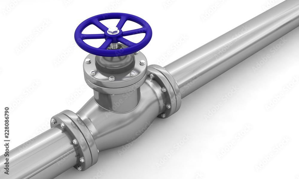 Fototapeta tuyau pipeline vanne