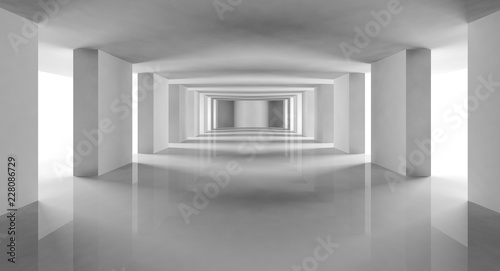 Fotografering architecture moderne contemporaine 3D