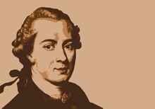 Portrait De Kant, Célèbre Ph...