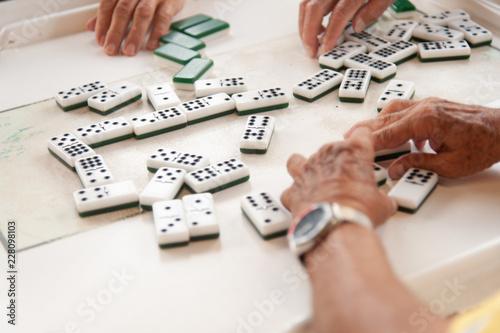 playing domino Calle ocho Slika na platnu