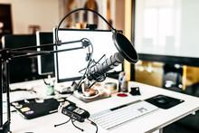 Podcast Home Studio.