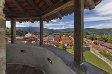 View From Castle Chapel Mali Grad In Kamnik, Slovenia