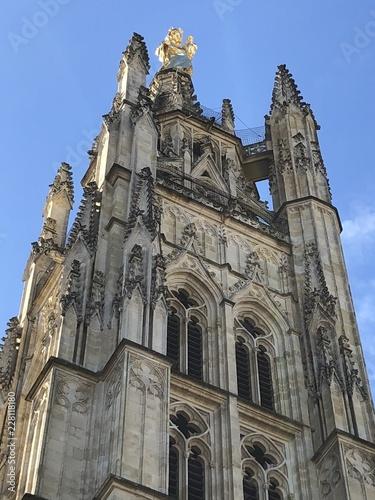 Fotografie, Obraz  cathédrale paysage urbain  architecture dans Bordeaux