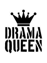 Drama Queen Stempel Gefahr Coo...