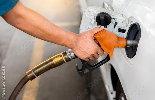 Obraz na płótnie Petrol station