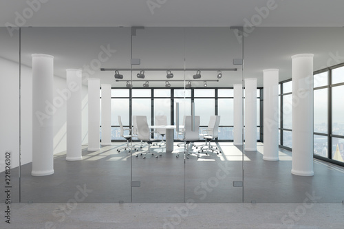 Fototapety, obrazy: Contemporary meeting room interior