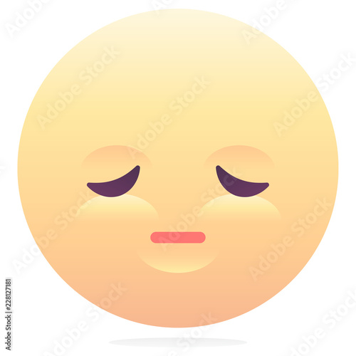 Tired emoji - Buy this stock vector and explore similar vectors at