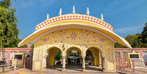 Deurstickers Asia land Pondrik Park in Jaipur, India