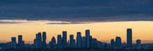 Silhouette Of Mississauga City...