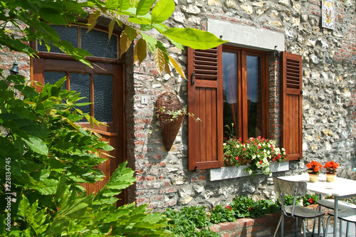 Belgique Wallonie decoration maison jardin facade - Buy this ...