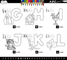 Educational Cartoon Alphabet F...