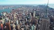 Aerial of Architecture and Cityscape in New York City