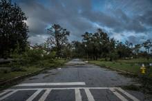 Destruction After Hurricane Michael