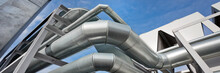 Pipes Of Ventilation System