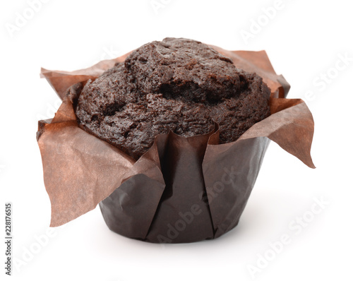 Fresh chocolate muffin Canvas-taulu