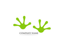 Frog Logo  And Symbol Vector Illustration
