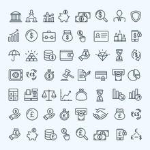 Finance Icons Set