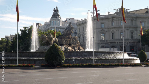 Garden Poster Madrid Cibeles