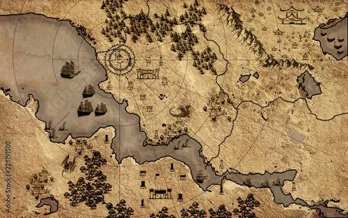 stara-mapa-vintage-fantasy