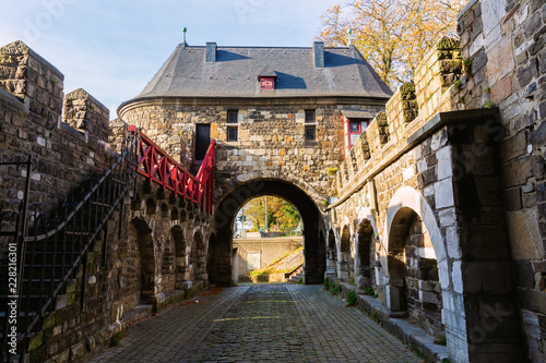 medieval Ponttor in Aachen, Germany Wallpaper Mural