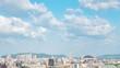 都市風景 タイムラプス 福岡市