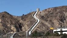 Los Angeles Aqueduct Near Sylmar, USA.