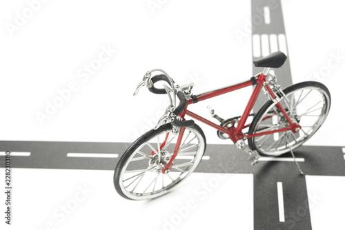 ミニチュアの自転車