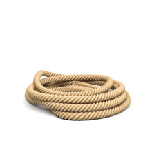 3d Rendering Of Some Rope Lyin...