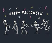 Dancing Skeletons Set