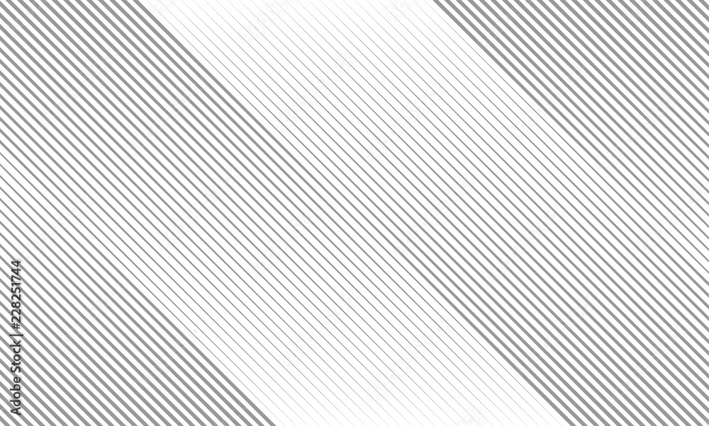 Fototapeta Vector Illustration of the gray pattern of lines abstract background. EPS10.