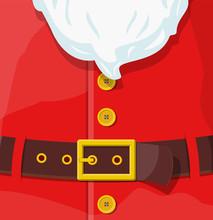 Red Santa Claus Suit.