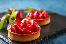 Tasty Tartlet With Strawberrie...