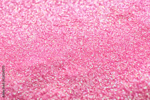 Shiny pink sequins, closeup - 228264770