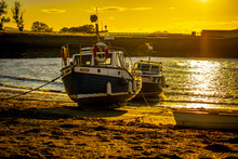 Fisherman Boats On The Beach I...