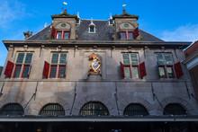 Typische Hausfassade In Hoorn/NL