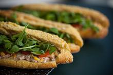 Lunch Sandwich Poulet Fait-maison