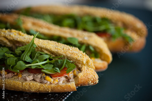Lunch Sandwich Poulet Fait Maison Buy This Stock Photo And Explore Similar Images At Adobe Stock Adobe Stock