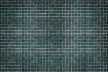 Green Tile Background Texture Pattern