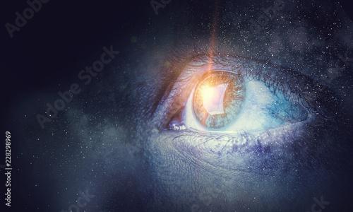 Obraz Space abstract backdrop - fototapety do salonu
