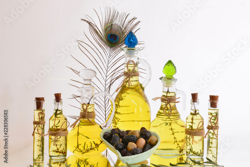 In de dag Aromatische genuine olive oil, oregano flavored and reliable product