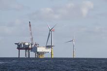 Offshore Windpark Konstruktion Ostsee Rügen