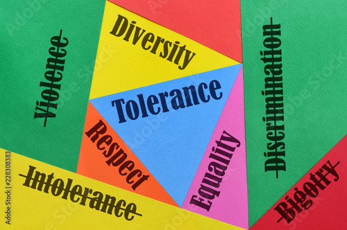 Love and Tolerance Canvas Print