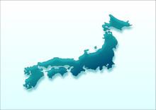 日本地図 japan Map