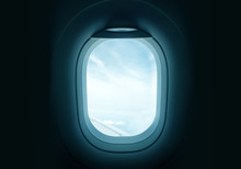 Looking Out Through An Airplan...