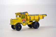 Vintage Toy Dump Truck Yellow