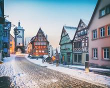 Medieval Old Rothenburg Ob Der...